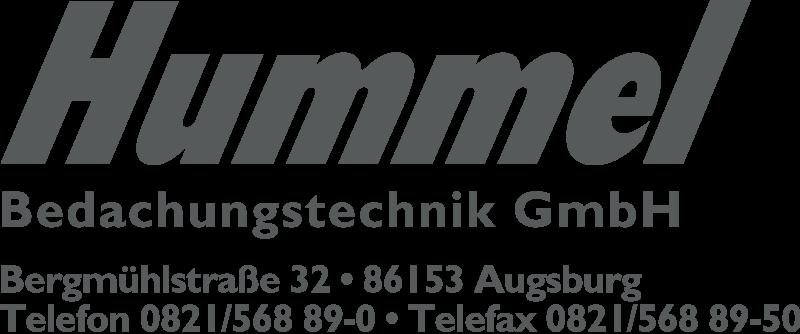 Hummel Bedachungstechnik GmbH - Bergmühlstraße 32, 86153 Augsburg.