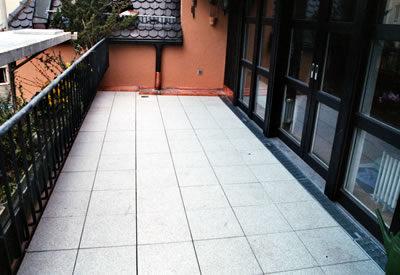 Terrassenabdichtungen ausgeführt von der Hummel Bedachungstechnik GmbH